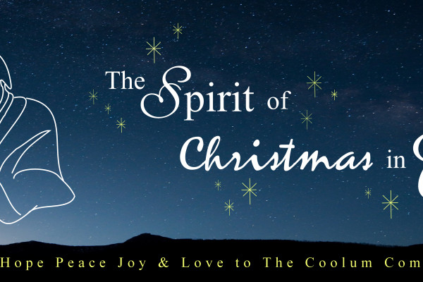 spirit of christmas large banner